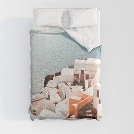 Santorini, Oia, Greece Comforters