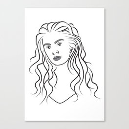 Charli XCX Canvas Print