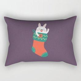 Day 15/25 Advent - Merry Christmas Human! Rectangular Pillow