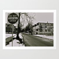 West Side Buffalo, NY Art Print