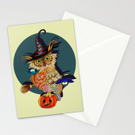 Owl Scary Stationery Cards