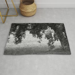 Cork Oak Tree Forest 2 Rug