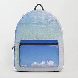 Enjoying the Beach in Maldives Backpack