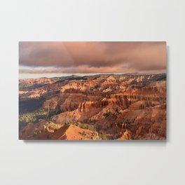 Morning 6011 - Cedar_Breaks National_Monument, Utah Metal Print