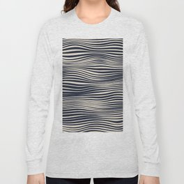 Waving Lines Long Sleeve T-shirt