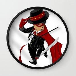 Tuxedo Mask x Andres Bonifacio Wall Clock