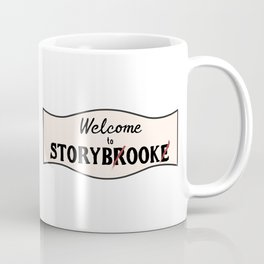 OUAT  Welcome to Storybrooke sign Coffee Mug