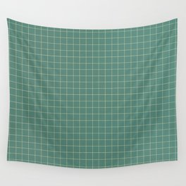 Tile - Green Wall Tapestry