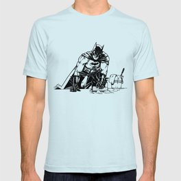 Cleaning up Gotham City T-shirt