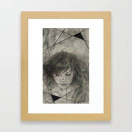 Thread Framed Art Print