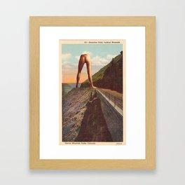 Sensation Point Framed Art Print