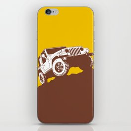 car jeep iPhone Skin