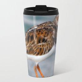 Profile of a Ruddy Turnstone Travel Mug