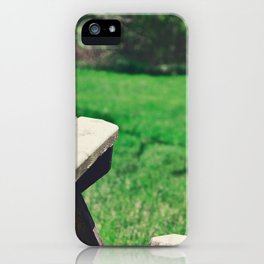 Picnic Table iPhone Case