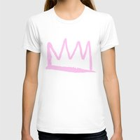 crown T-shirts featuring Crown by schillustration