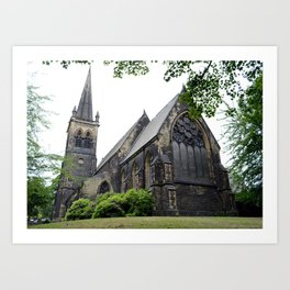Old Church in England: St. Thomas Art Print