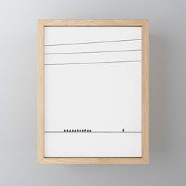Strength in Solitude Framed Mini Art Print