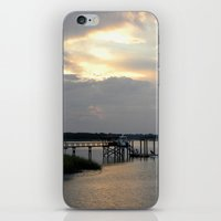 scripture iPhone & iPod Skins featuring Hilton Head Island, Scripture by Stephanie Stonato