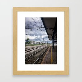 The Last Train To The Coast Framed Art Print