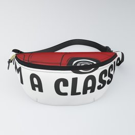 I'm Not Old I'm a Classic Vintage Red Pickup Truck Fanny Pack