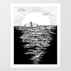 Abandoned to the Sun Art Print