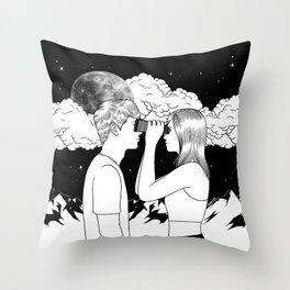 Exploring you Throw Pillow