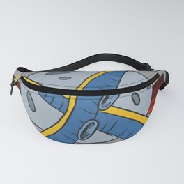 The octopus attack Fanny Pack
