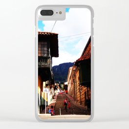 Life on latinoamerica - Colombia Clear iPhone Case