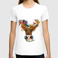 elk T-shirts featuring Elk by aileencopyright