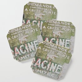 Ghost Sign Coaster