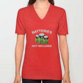 Batteries Not Included Unisex V-Neck