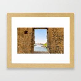 Egypt - Philae Temple Framed Art Print