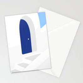 Santorini #01 Stationery Cards