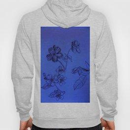 Blue Botanical Hoody