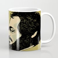 stanley kubrick Mugs featuring kubrick by Le Butthead