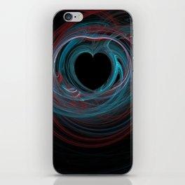 Valentine's Fractal IX - Dark iPhone Skin