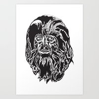 teen wolf Art Prints featuring Teen Wolf by The Milk Club