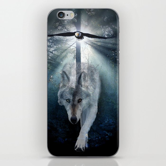 The Gathering - Wolf and Eagle iPhone Skin