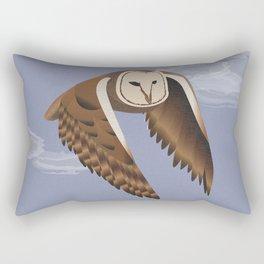 Owl at Dusk Rectangular Pillow