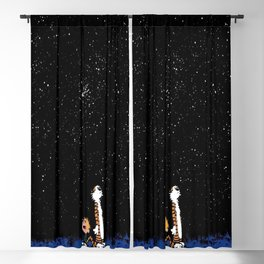 Calvin And Hobbes 13 Blackout Curtain