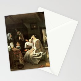 Jan Steen - Lovesickness Stationery Cards