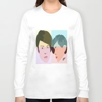 tegan and sara Long Sleeve T-shirts featuring TEGAN AND SARA  by NURUL A.