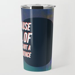 BTS DNA LYRICS - Because all of this is not a coincidence Travel Mug