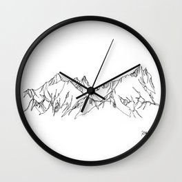 Spring Thaw Wall Clock