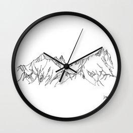Spring Thaw Wall Clock
