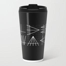 Typography Is Everything - Poster 1 Metal Travel Mug