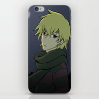 leon iPhone & iPod Skins featuring Leon 2 by Owly Fa