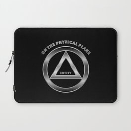 ENTITY ON THE PHYSICL PLANE Laptop Sleeve