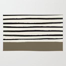 Cappuccino x Stripes Rug