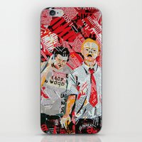 shaun of the dead iPhone & iPod Skins featuring Shaun of the dead by Lanka69